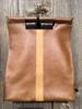 Brown with Hornback Tan Stripe