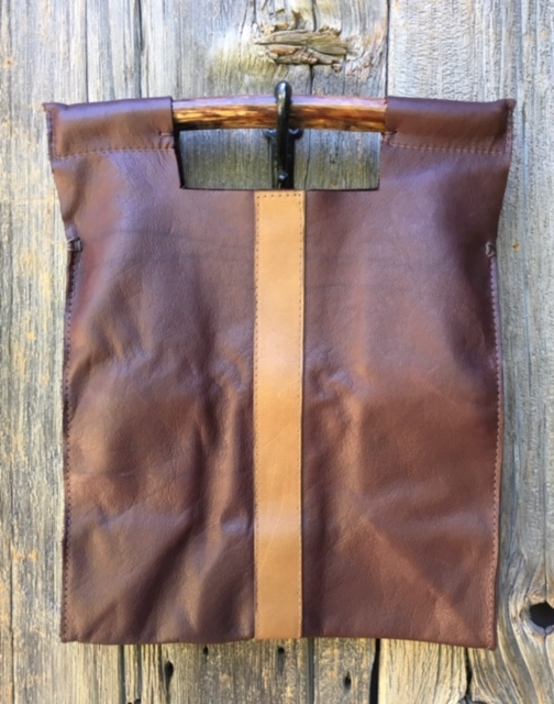 Bison Brown with Tan Stripe