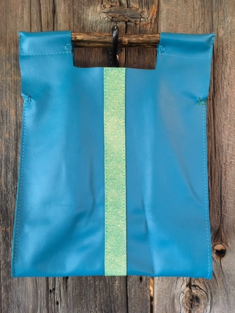 Turquoise with {quote}Sting Ray{quote} Green Stripe