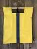 Yellow with Royal Blue Stripe