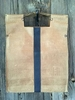 Hornback Embossed Tan with Navy Stripe