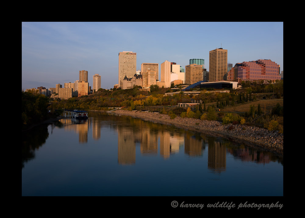 Downtown Edmonton in the Fall