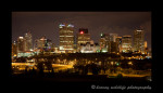 This picture of the city of Edmonton was taken from the ski hill on top of Connors Hill.