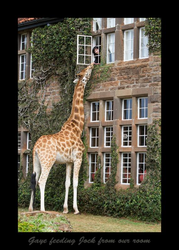 Giraffe Manor Mansion