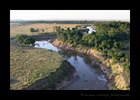 Mara River from a Hot Air Balloon