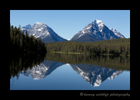 Jasper Mountain Reflections
