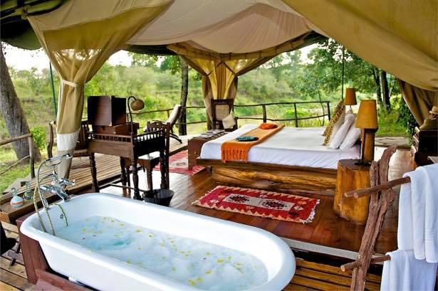 Mara Explorer Tent Bed and tub