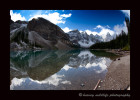 Morraine Lake is one of the prettiest lakes in the Rocky Mountains.