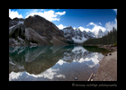 Picture of Morraine Lake in Banff National Park, Alberta, Canada.