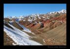 Tajikistan Mountain Range.