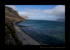 Picture of west fjords in Iceland not far from Latrabjarg cliffs.