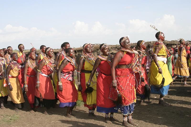 Massai Dancers