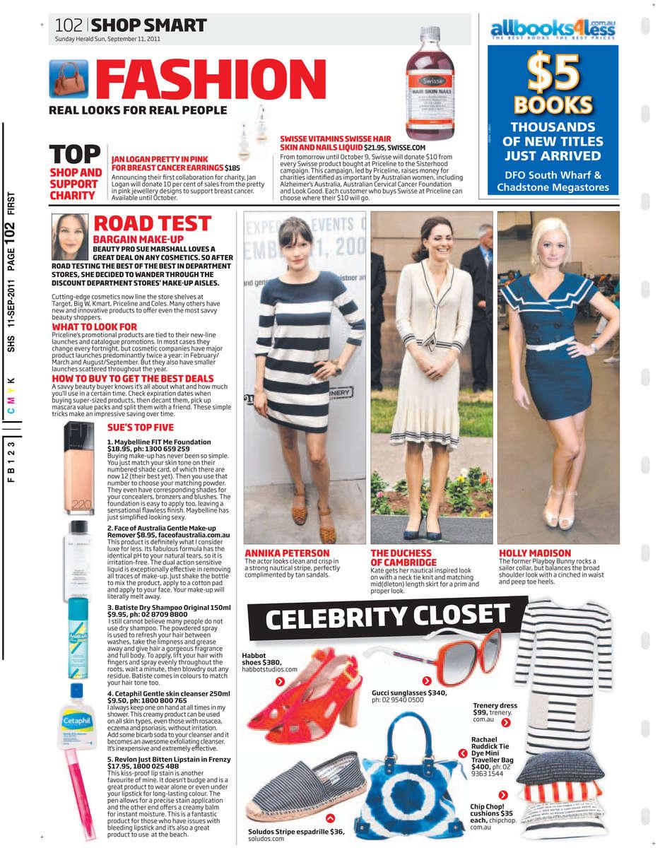 Sunday Herald Sun 11/09/2011 PAGE=102