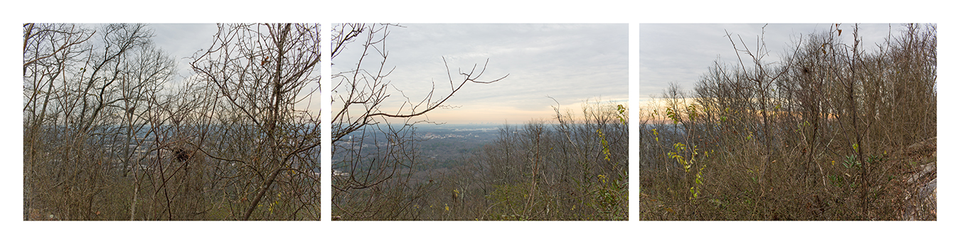 View of Atlanta from Kennesaw MountainOn this mountain 30 miles northwest of Atlanta, Union Maj. General William Tecumseh Sherman's full frontal assault against General Joseph Eggleston Johnston's Army of Tennessee led to tactical defeat, but strategic victory, as the Confederates retreated to the city following the battle.Battle of Kennesaw MountainJune 27, 1864Cobb County, GeorgiaDecember 28, 2012  1:48 – 1:49 pm