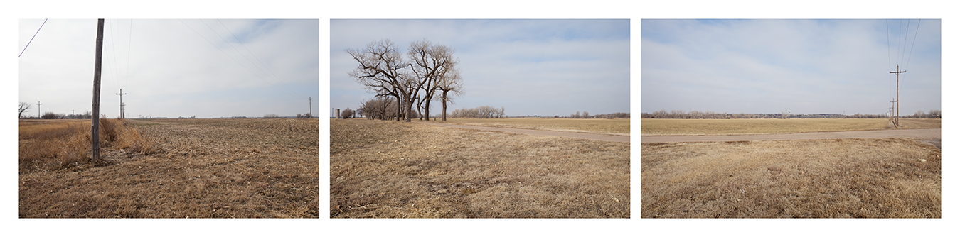 Birthplace of Farm CreditHistorical MarkerHighway 56, southwest of Larned, KansasDecember 27, 201012:10 – 12:11 pm