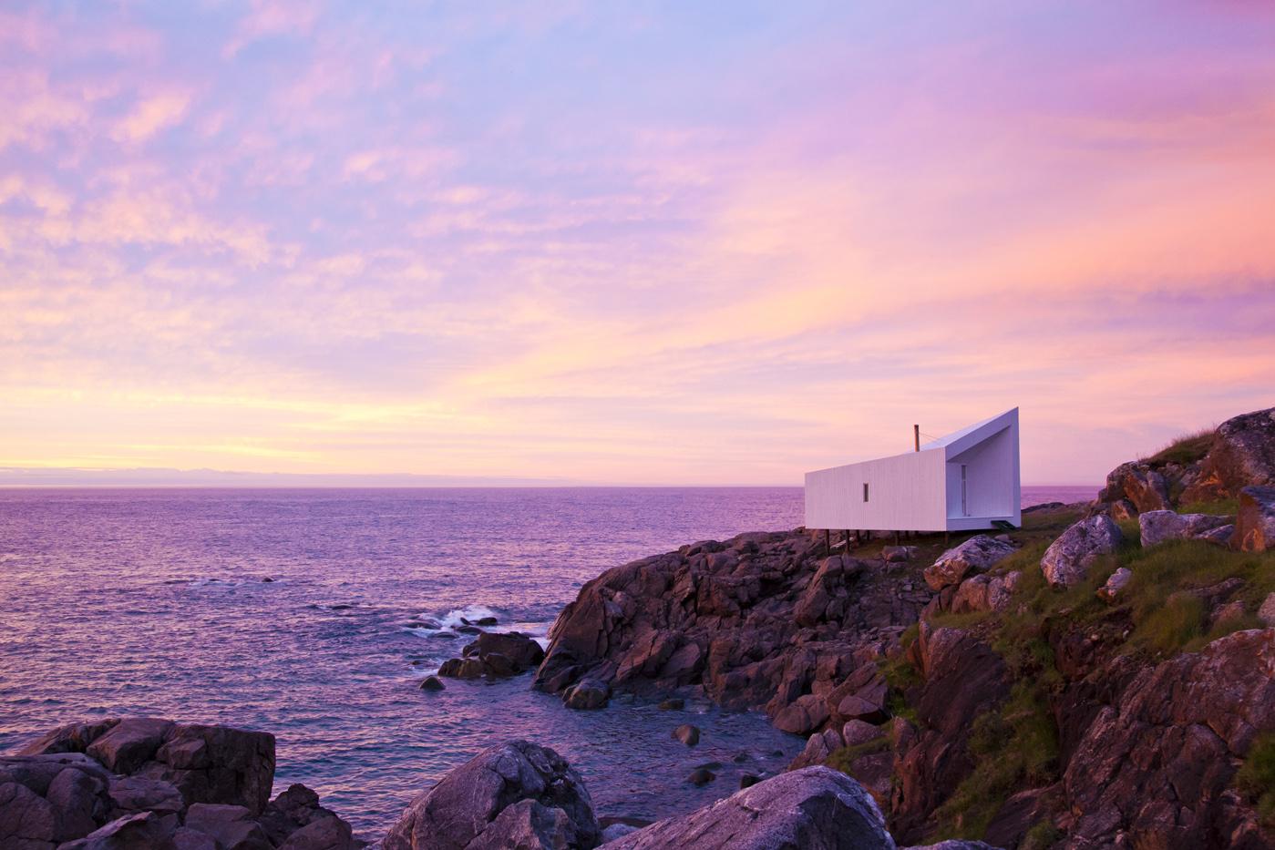 Squish Studio, Fogo Island, Newfoundland, Canada
