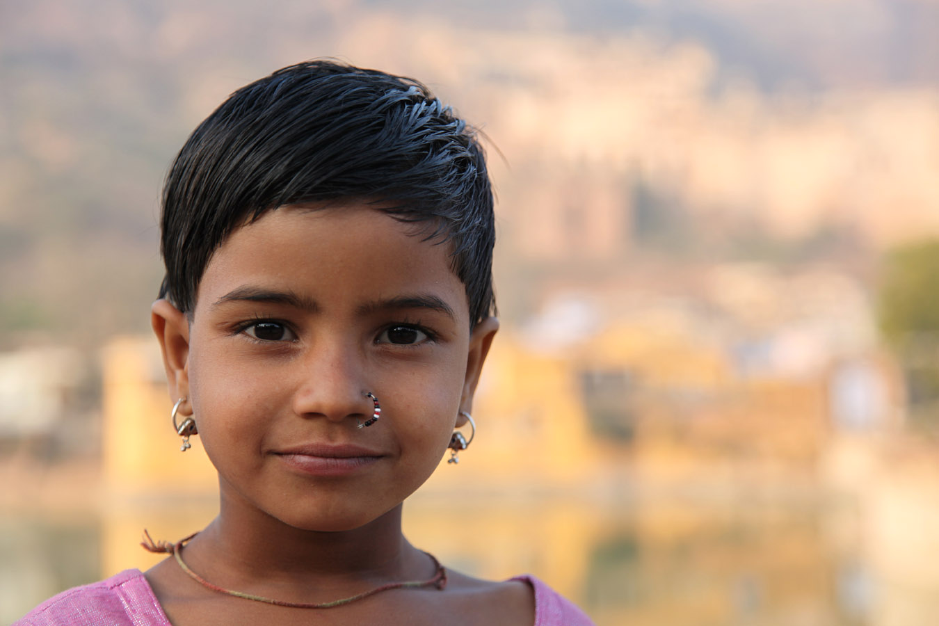 Young girl, Bundi