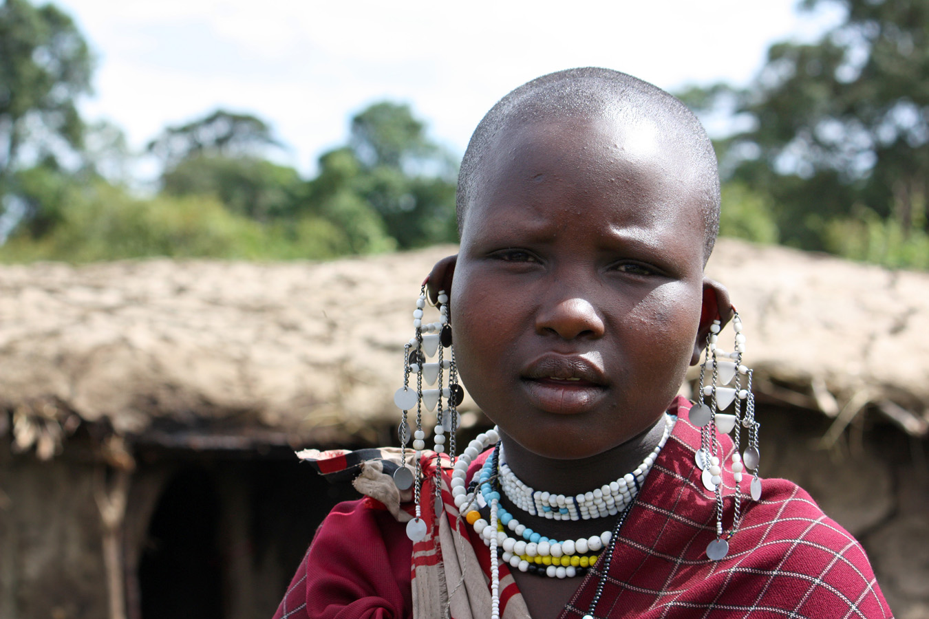 Village girl, Ndutu