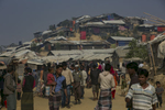 Rohingya refugees are seen in Balukhali camp