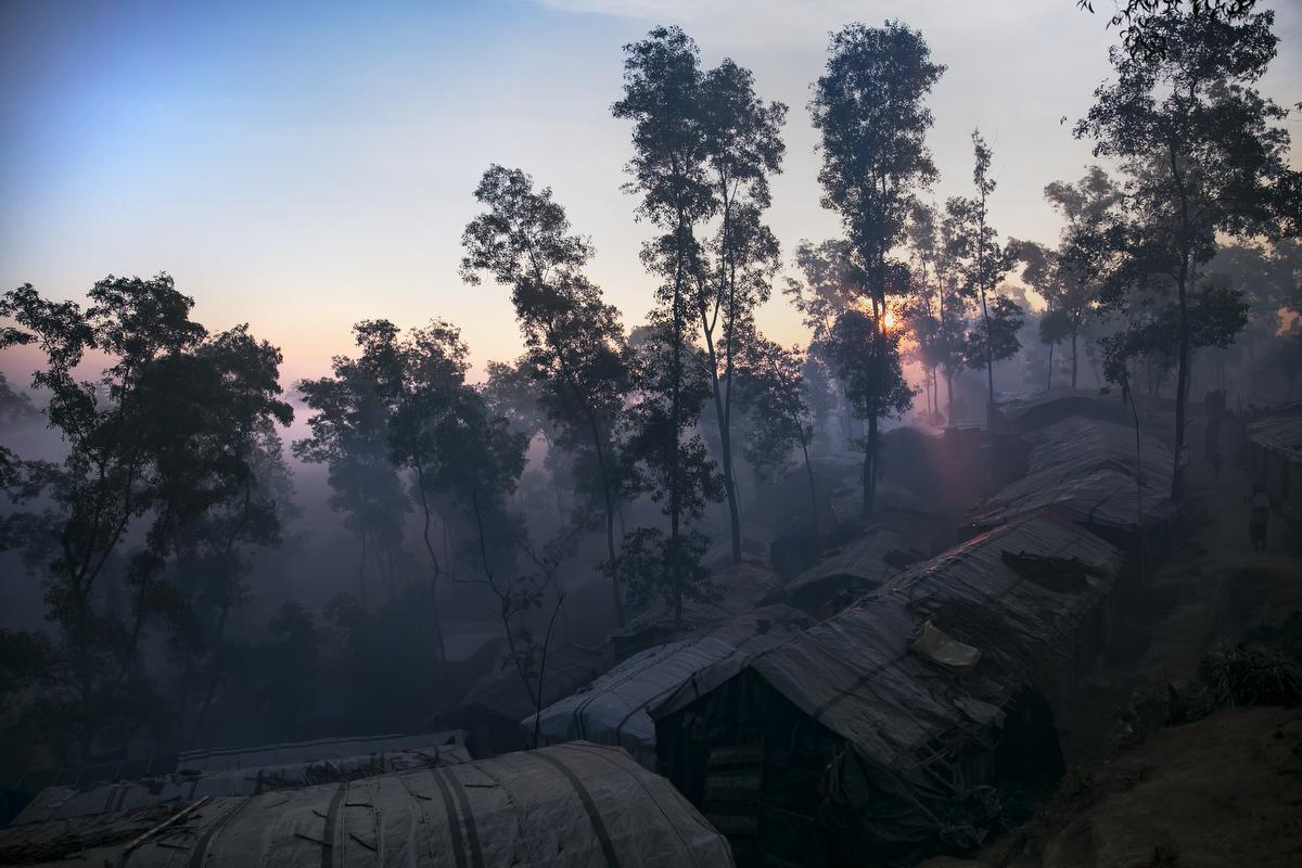 Thaingkhali Rohingya refugee camp