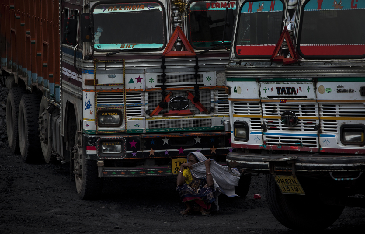 Coal mining and government resident relocation in Jharkhand India
