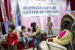 Children play after a {quote}Mommy and Me{quote} class at the Rohingya Cultural Center of Chicago