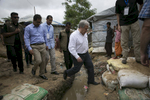 UN Secretary General António Guterresvisits a Rohingya refugee camp July 2, 2018 in Cox's Bazar, Bangladesh. Allison Joyce/UNFPA