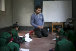 Pastor Manik, who has received death threats from ISIS, teaches school in Bangladesh