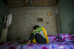 A trafficking victim, who was trafficked into the brothel when she was 12 years old