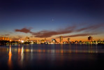Boston_Sunset_by_JesseLeeWeiner