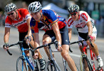 Riders participate in the 2010 Dothan CityFest criterium race in downtown Dothan.