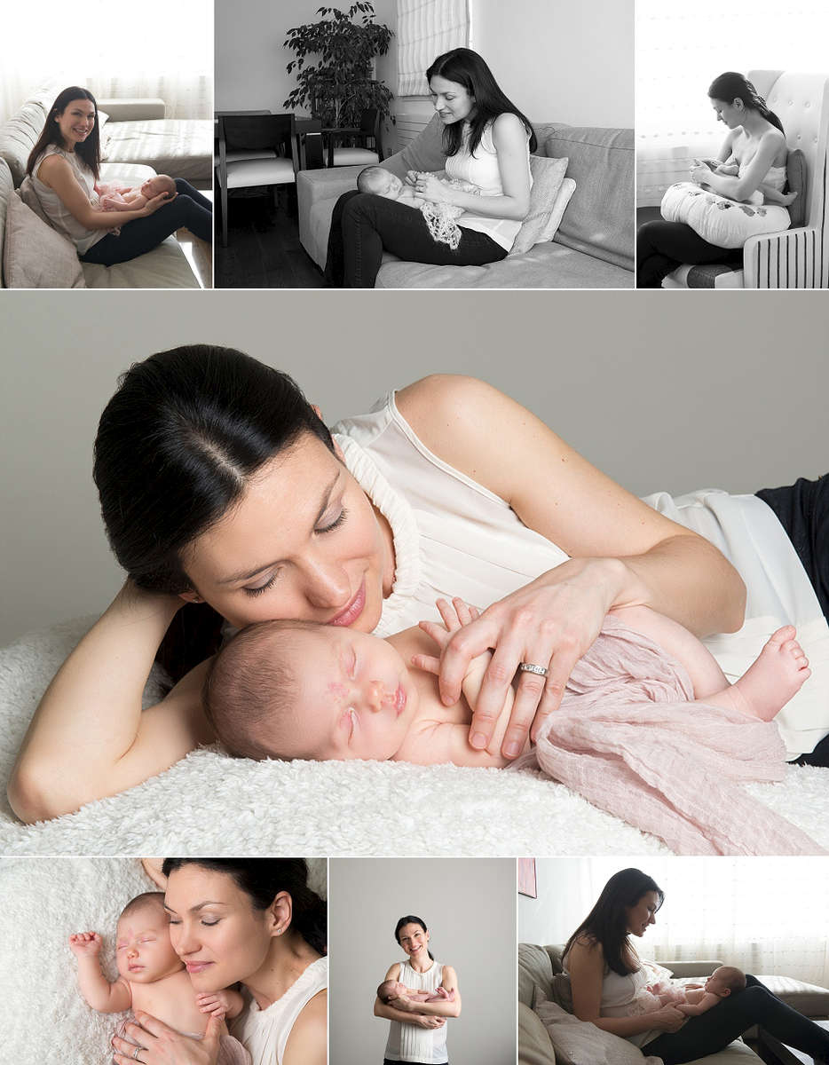 Baby photography at your home in London. Taken by award winning baby photographer  Nemi Miller.