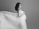 Black-and-white-studio-pregnancy-photography-Surrey