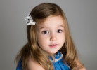 Beautiful child photography of a girl photographed in Nemi's West London studio.
