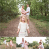 Outdoor family combined with maternity photography session in Wimbledon Common.