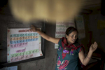 Binita Rai teaches her students at Phulyuku Primary School.