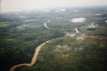 A view above the Central African Republic.