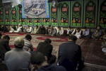 Afghan Hazaras mourn during an Arbaeen at the Ershad Islamic Centre held in Lidcombe, Sydney. Arbaeen marks the end of the 40-day mourning period for the grandson of the Prophet Muhammad. Hussein, the third Shia Imam, was killed in battle at Karbala in the 7th Century. His martyrdom is considered a defining event in the schism between Sunnis and Shia Muslims