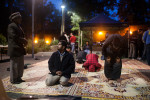 Once a week during Ramadan, the University of Newcastle Islamic Society organise a break fast in the courtyard at the University, this event attracts up to 200 people, many of which are non-Muslims coming to learn and share a meal.