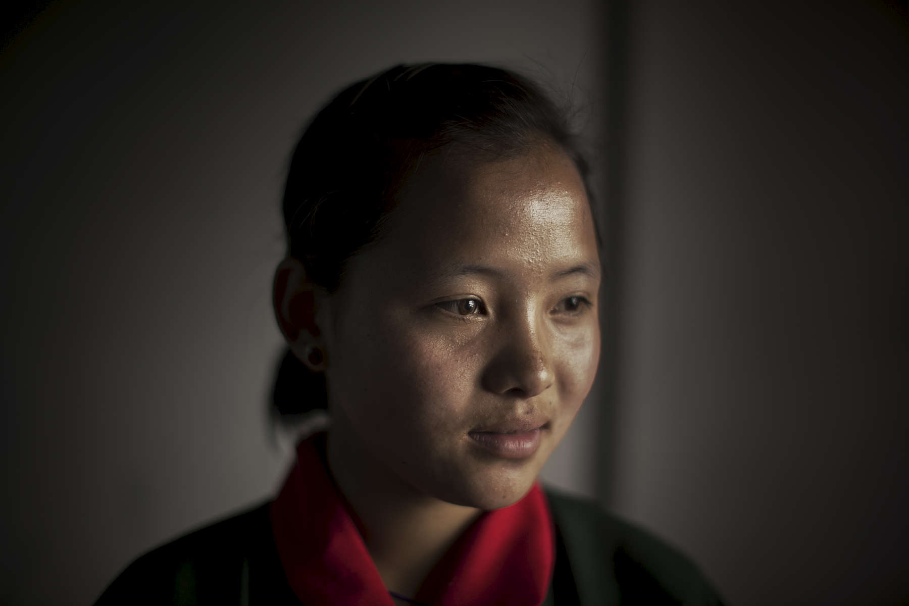 Lhaden Wangmo is 18 years old and currently studying in class 9 at Bitika Lower Secondary School.Lhaden dreams of becoming a doctor or an academic when she finished school and she talked at length about her love for study. Lhaden receives a scholarship from the  Australian Himalayan Foundation in partnership with RENEW Bhutan. The scholarship is part of a reintegration program for children who are survivors of rape, children of victims and survivors of domestic violence.