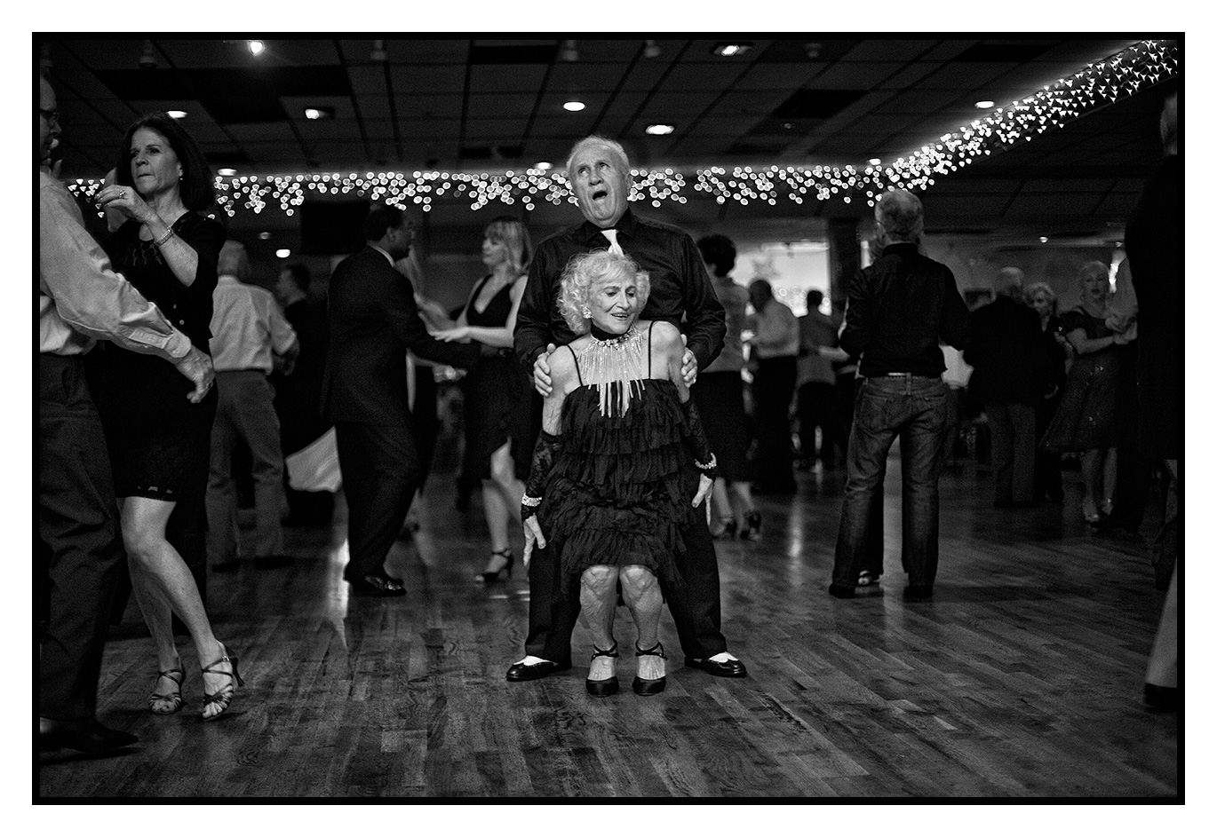 A couple of kids dance the night away ~ Open Night Ballroom Dancing ~ North Miami Beach