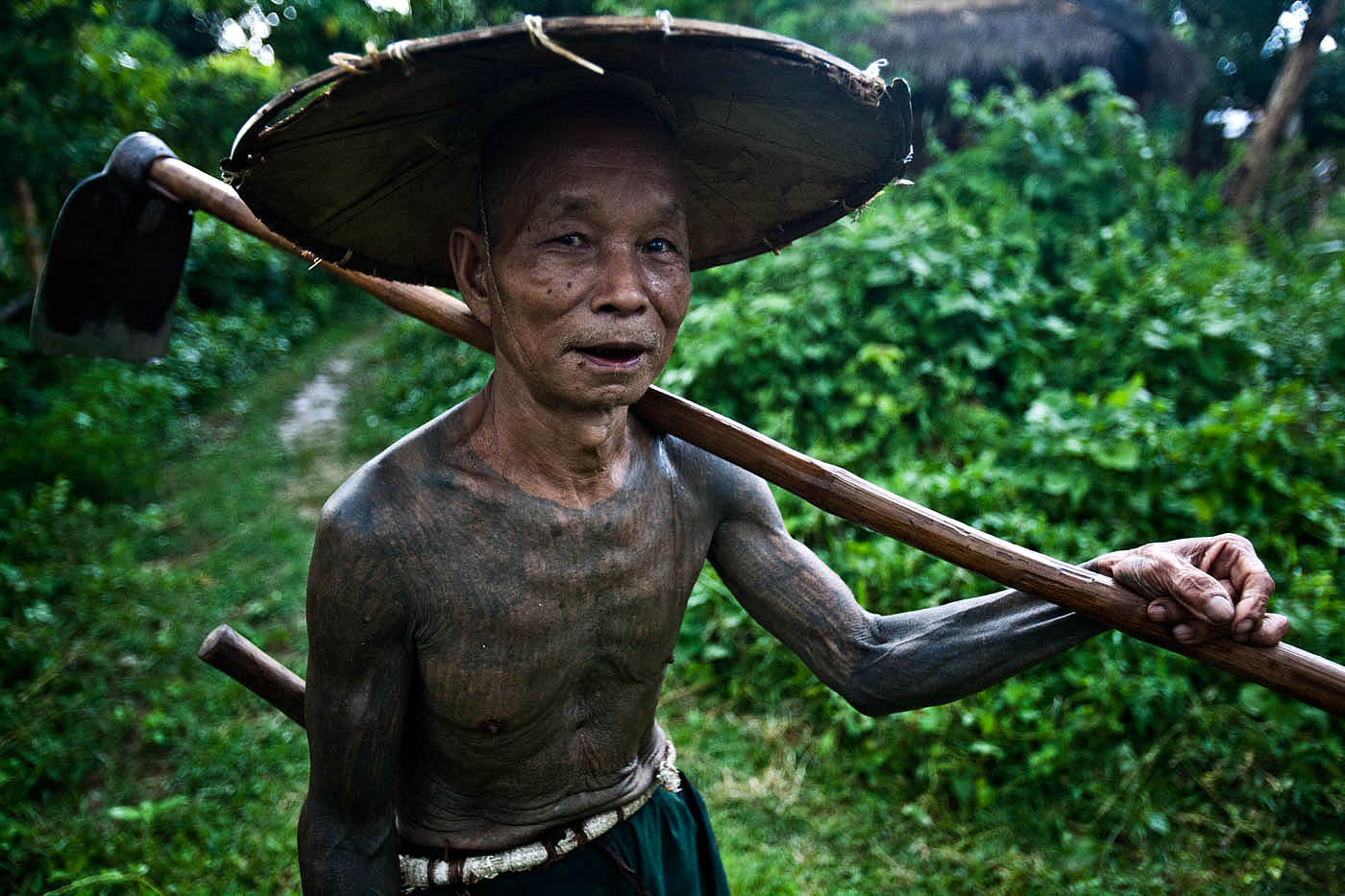 Farmer and Traditional Medicine Man, Hsipaw.