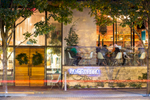 Architecture photography on location of local Austin restaurant by Dennis Burnett Photography
