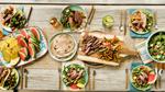 Overhead Professional Food Photography for Texas Beef Campaign - Austin, Texas based food photographer Dennis Burnett