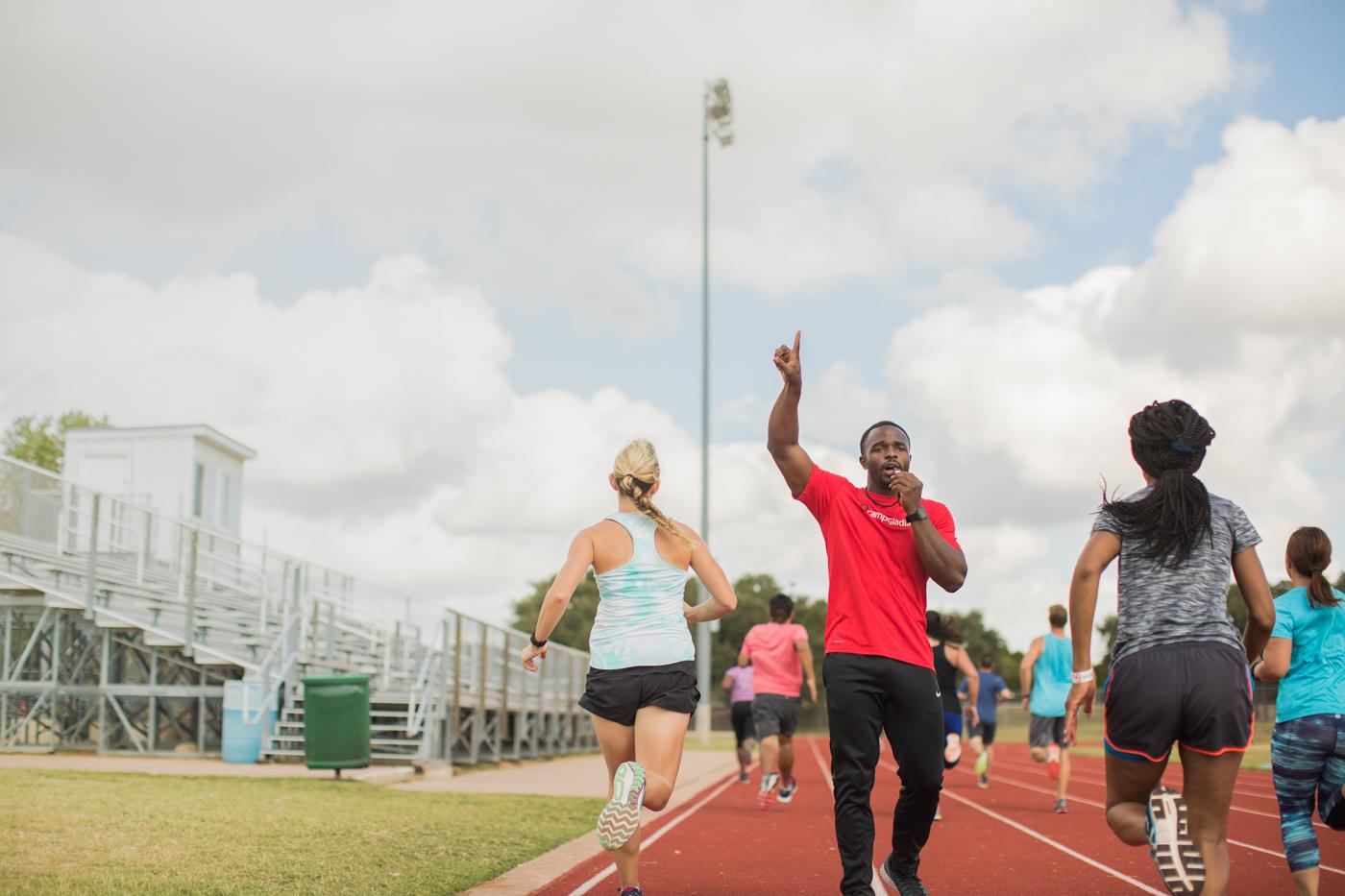Outdoor lifestyle photography fitness training photoshoot.