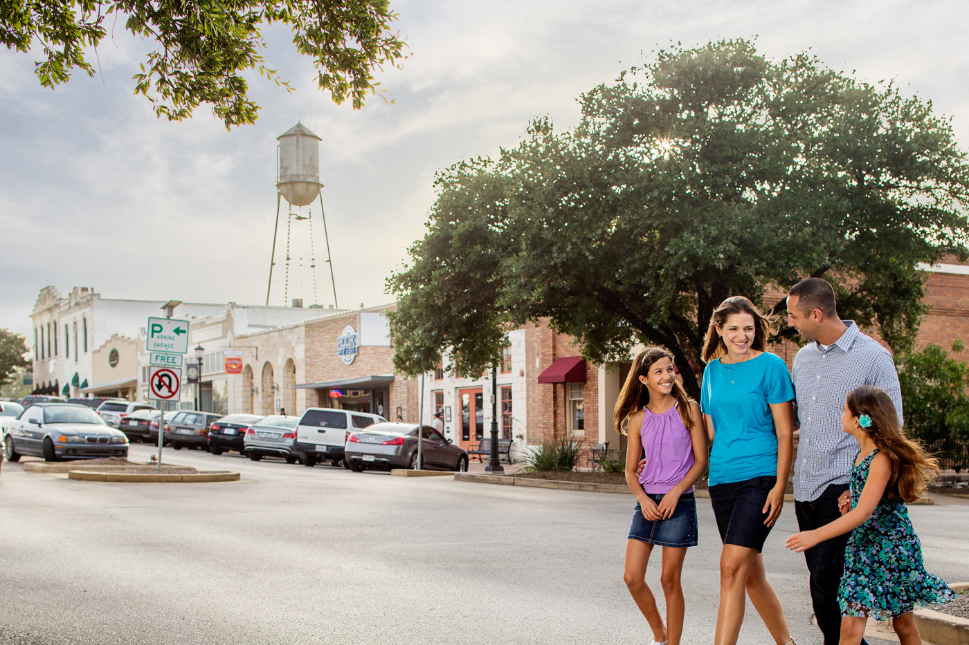 Lifestyle photography on location outside in Round, Rock Texas by Dennis Burnett Photography