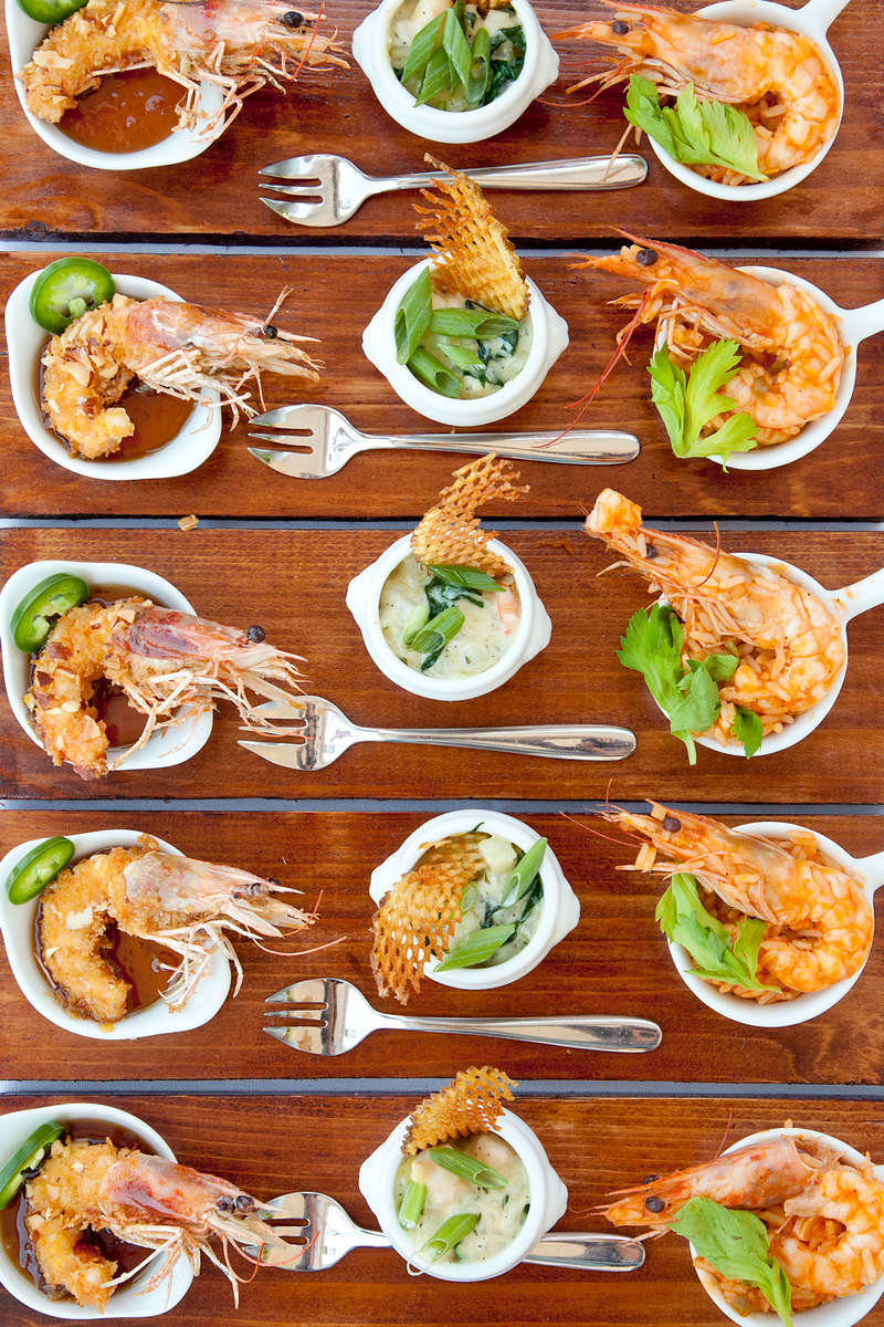 Food and beverage photography on location.