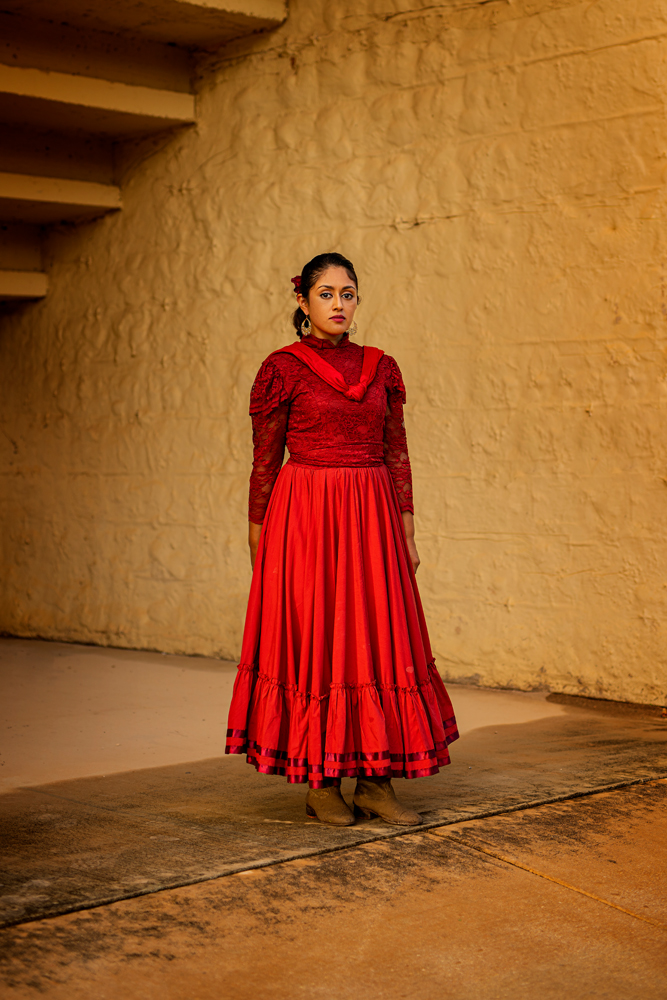 San Antonio Charro Association Latina Pueblo Portrait Dennis Burnett Photography Austin Texas Photographer