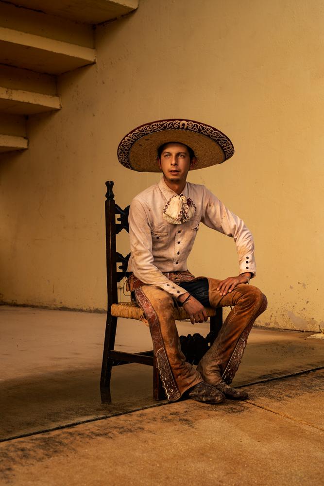 San Antonio Charro Association Latino Pueblo Portrait Dennis Burnett Photography Austin Texas Photographer