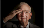 Photographer Dennis Burnett, located in Austin, TX, takes portraits of WWII veterans.